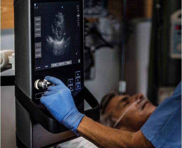 Uso de ecografo Sonosite en pacientes